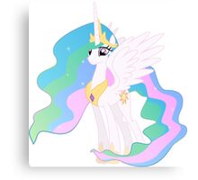 WORRIED PRINCESS CELESTIA Canvas Print