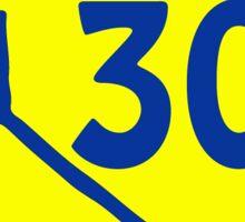 Golden State Warriors 30 Sticker