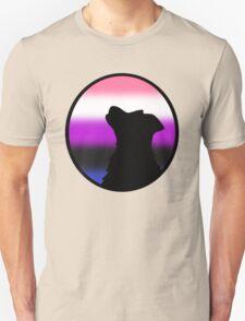 Genderfluid Wolf Pride T-Shirt