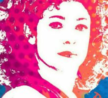 River Song Doctor Who Pop Art Sticker