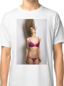 sexy nude erotic glamour girl model 26 Classic T-Shirt