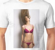 sexy nude erotic glamour girl model 26 Unisex T-Shirt