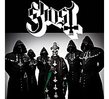 ghost bc pope papa 2016 Photographic Print