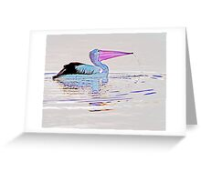 Serenity on the Lake at Dusk Greeting Card