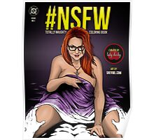 SheVibe Presents - #NSFW Totally Naughty Coloring Book - Edited by Lady Cheeky Poster
