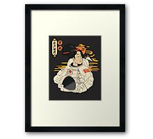great era of Edo Framed Print