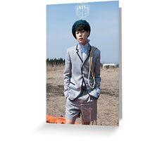 BTS/Bangtan Sonyeondan - Young Forever Concept #3 (Jimin) Greeting Card