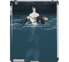 Merlock Saves Naval Officer john iPad Case/Skin