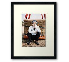 BTS/Bangtan Sonyeondan - Young Forever Concept #4 (Suga) Framed Print