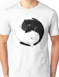 Yin Yang Cats - version 2 Unisex T-Shirt