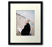 BTS/Bangtan Sonyeondan - Young Forever Concept #7 (Jin) Framed Print