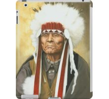 American Indian War Chief iPad Case/Skin