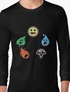 MAGICAL MANA WHEEL Long Sleeve T-Shirt