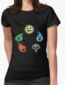 MAGICAL MANA WHEEL Womens Fitted T-Shirt