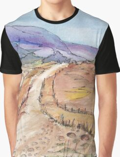 A road in Namibia Graphic T-Shirt