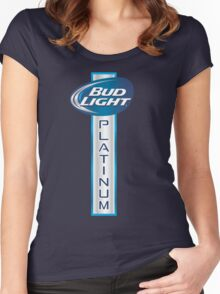 Bud Light Platinum Women's Fitted Scoop T-Shirt