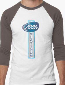 Bud Light Platinum Men's Baseball ¾ T-Shirt