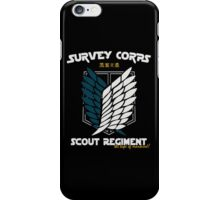 Attack on Titan Scout iPhone Case/Skin