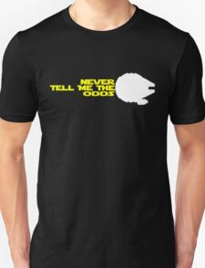 Han Solo:  Never Tell Me the Odds Unisex T-Shirt