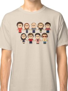THAT 70'S SHOW - MAIN CHARACTERS CHIBI - MANGA 70'S SHOW Classic T-Shirt