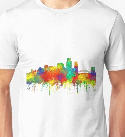 Corpus Christi Skyline - SG Unisex T-Shirt