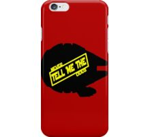 Han Solo:  Never Tell Me the Odds iPhone Case/Skin