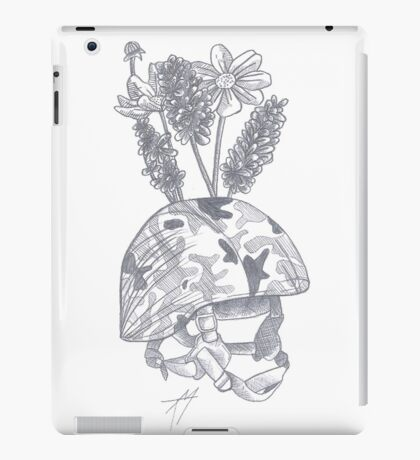 SOLDIER HELMET iPad Case/Skin