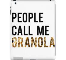 People Call Me Granola iPad Case/Skin