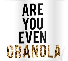 Are You Even Granola? Poster