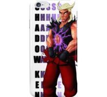 Shadow Ken SFV iPhone Case/Skin