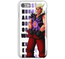 Shadow Ken SFV iPhone Case/Skin