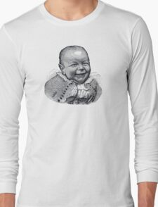 Vintage Ugly Baby Long Sleeve T-Shirt