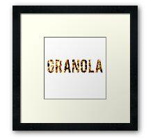 Granola Framed Print