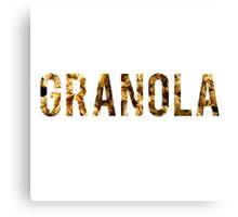 Granola Canvas Print