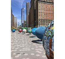 aRT IN bATTERY pARK, nyc Photographic Print