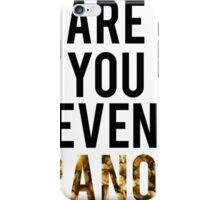 Are You Even Granola? iPhone Case/Skin