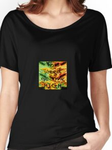 weed got me high Women's Relaxed Fit T-Shirt
