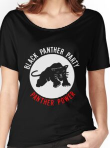 THE BLACK PANTHER PARTY Women's Relaxed Fit T-Shirt