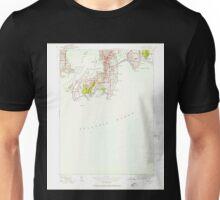 USGS TOPO Map Rhode Island RI Newport 353320 1939 24000 Unisex T-Shirt