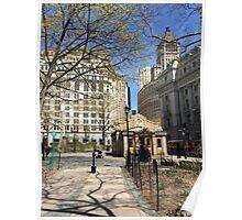 bAtTERY pARk, NEWYORK Poster