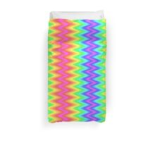 Colour Zig Zag Pattern Design Duvet Cover