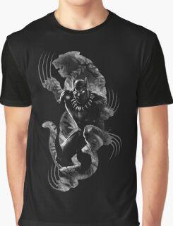 Black Panthera Graphic T-Shirt