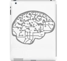 cyborg brain machine computer science fiction microchip intelligence brain design cool robot iPad Case/Skin