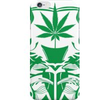 Cannabis Illustration in the Art Nouveau Style iPhone Case/Skin