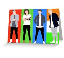 One Direction 5 Greeting Card