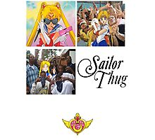 Sailor Thug Photographic Print