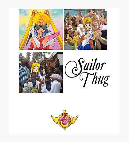 Sailor Thug Photographic Print