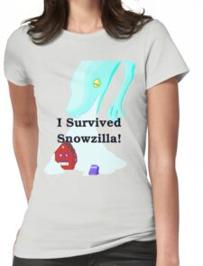 Snowzilla Womens Fitted T-Shirt