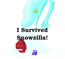 Snowzilla Photographic Print
