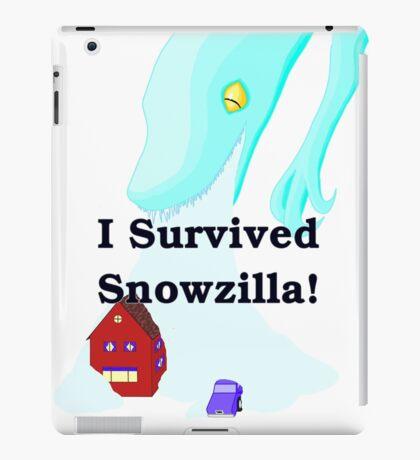Snowzilla iPad Case/Skin